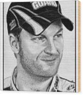 Dale Earnhardt Jr In 2009 Wood Print