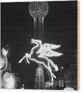 Dallas Pegasus Reunion 121517 Wood Print