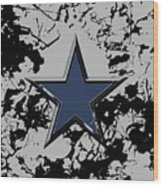 Dallas Cowboys 1b Wood Print