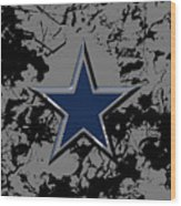 Dallas Cowboys B1 Wood Print