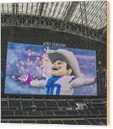 Dallas Cowboys Rowdy Wood Print