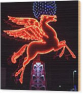 Dallas Pegasus V1 121417 Wood Print