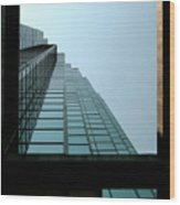 Dallas Skyscraper Patterns  Wood Print