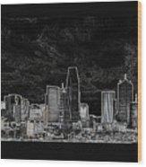 Dallas Wood Print