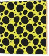 Dalmatian  Black Pattern 05-p0173 Wood Print