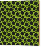 Dalmatian  Black Pattern 09-p0173 Wood Print