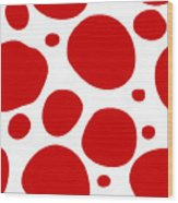 Dalmatian Pattern With A White Background 02-p0173 Wood Print