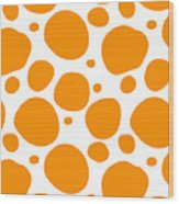 Dalmatian Pattern With A White Background 03-p0173 Wood Print