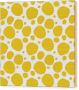 Dalmatian Pattern With A White Background 05-p0173 Wood Print