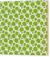 Dalmatian Pattern With A White Background 09-p0173 Wood Print