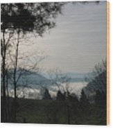 Damascus Fog Wood Print