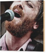 Dan Auerbach And The Fast Five Performs At The Mean Eyed Cat Dur Wood Print