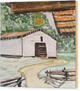 Dan Lawson Barn Wood Print
