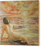 Danae Wood Print
