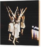 Dance - Y Wood Print