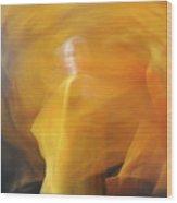 Dance Of Fire Wood Print