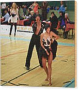 Dance Contest Nr 02 Wood Print