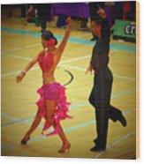 Dance Contest Nr 06 Wood Print