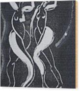 Dance IIi Wood Print