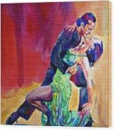 Dance Intense Wood Print