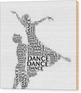 Dance Lift Wood Print