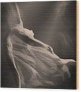 Dance Of The Ghost Wood Print
