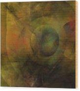 Dance of the Spheres  Wood Print