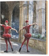 Dance Of The Swiss Guard Wood Print