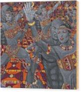 Dance Sankofa Wood Print
