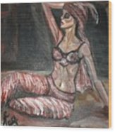 Danced All Nite Wood Print