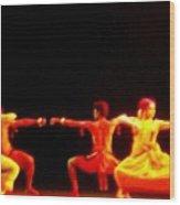 Danceexpressions Wood Print