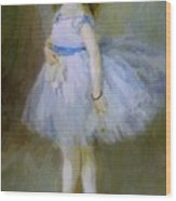 Dancer 1874 Wood Print