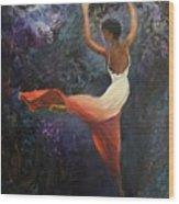 Dancer A Wood Print