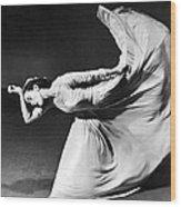 Dancer Martha Graham Wood Print