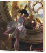 Dancer Wood Print by Monroe Snook