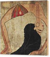 dancer of Ancient Egypt Wood Print