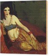 Dancer Of Delhi Betalo Rubino 1916 Wood Print