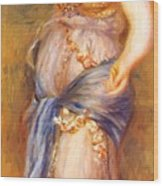 Dancer With Castanettes 1909 Wood Print