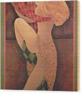Dancers Wood Print by Leslie Marcus