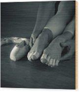 Dancers Sacrifice Wood Print