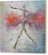 Danceuse De La Voie Lactee Wood Print