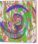 Danceyflam Wood Print