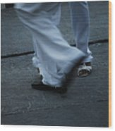 Dancing Feet At The Dominican Republic Son Party Number Three Wood Print