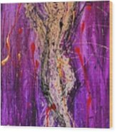 Dancing Figure Wood Print