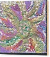 Dancing Flower Blossom Wood Print