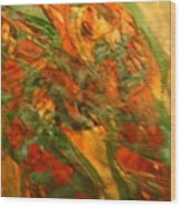 Dancing Gals - Tile Wood Print