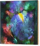 Dancing Iris Wood Print