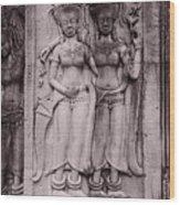 Dancing Nymphs Wood Print