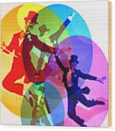 Dancing On Air Wood Print