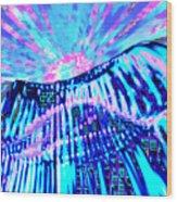 Dancing Sky Wood Print
